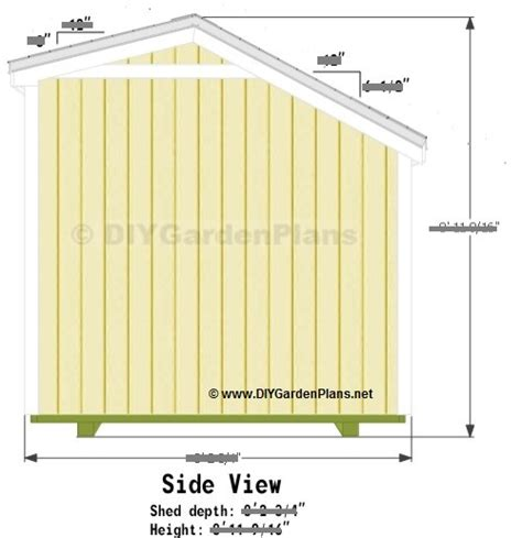 Saltbox Shed Plans 12x16 by Diy Firewood Shed Plans Page 3 Scyci
