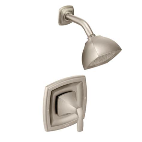 Moen Voss Faucet Specs by Moen T2692bn Voss Posi Temp Shower Only Faucet Brushed