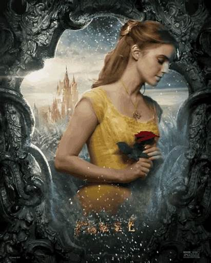 Beast Belle Disney Emma Watson Character Poster