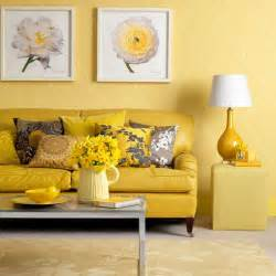 Yellow Wall Living Room Gallery