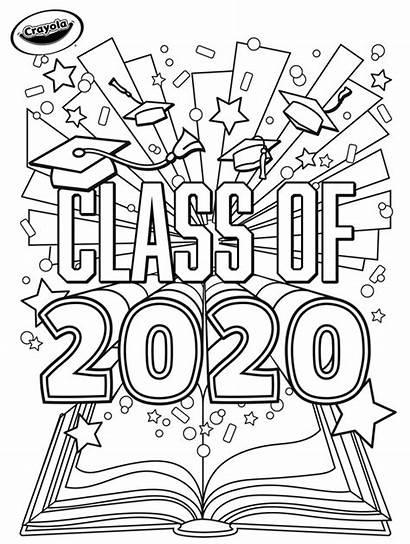Graduation Crayola Coloring Pages Class Printables