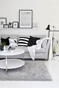 Tapis Scandinave Gris : tapis gris blanc noir maison design ~ Teatrodelosmanantiales.com Idées de Décoration