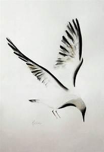 Pin de Tania Kerak en painting en 2019 | Seagull tattoo ...