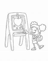 Coloring Step2 Downloads Easel sketch template