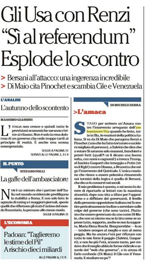 Amaca Di Serra by Michele Serra E La Storia Dell Amaca Su Bersani Censurata