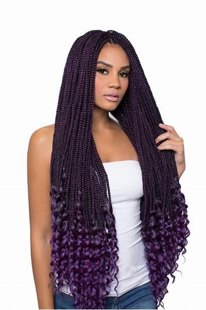 Box Braid Beauty Urban Hair 2x Hairstyles