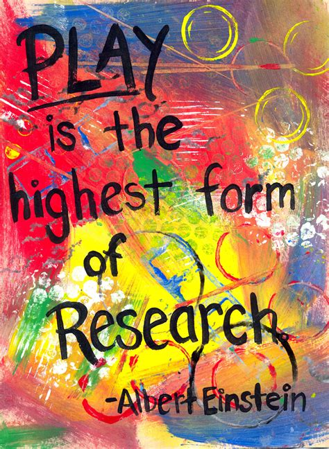 The smARTteacher Resource: Play is the Highest Form of ...