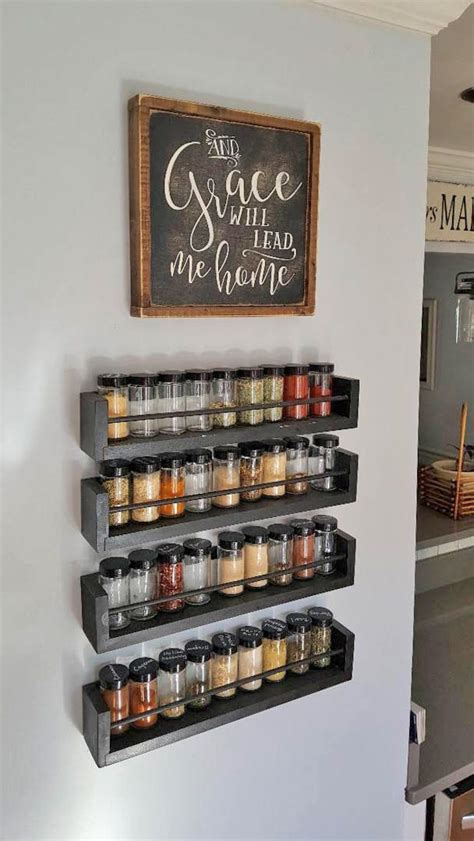 Big Spice Rack by Kitchen Wall Spice Rack Small Changes Big Impact