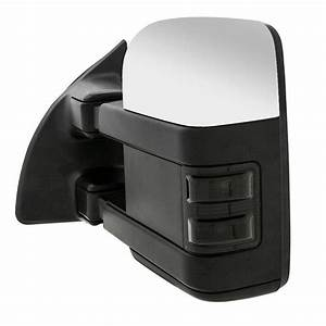 Qty2 Towing Mirrors Power Heated With Led Smoke For 1999