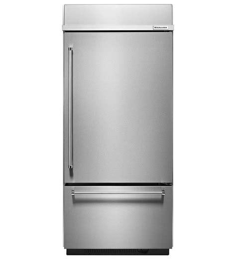 Kitchenaid Refrigerator Built In by Kitchenaid 36 Quot Built In Bottom Refrigerator Kbbr206ess