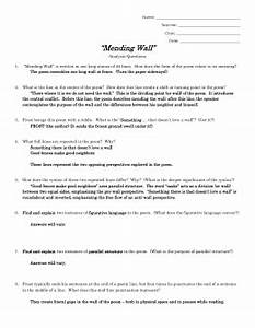 Compare And Contrast Essay Examples For High School Mending Wall Analysis Essay Romeo And Juliet English Essay also High School Persuasive Essay Topics Mending Wall Analysis Essay Buy Essays For Under  Bucks Mending  Catcher In The Rye Essay Thesis