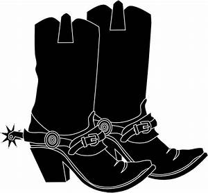Cowgirl Hat And Boot Clip Art at Clker.com - vector clip ...
