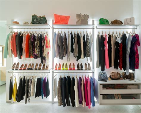 Custom Closet Components by Walk In Closets And Open Wardrobe Systems Custom Made