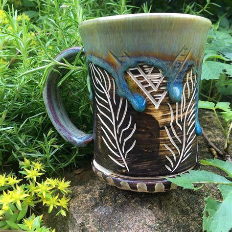 pottery redstone mug guys drips gulp wow