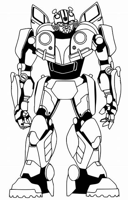 Bumblebee Coloring Pages Transformers Sheets Optimus Transformer