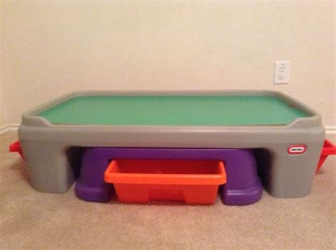 little tikes train table train play table for sale