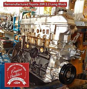 Toyota 20r 2 2 Remanufactured Engine