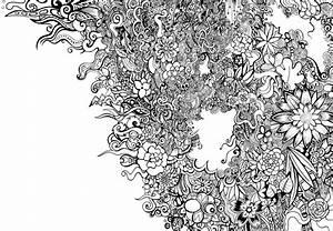 Black And White Flower Pattern Tumblr | www.pixshark.com ...