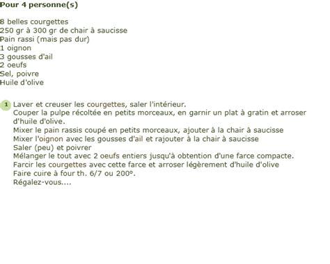 cuisiner chair à saucisse recette courgettes farcies à la chair à saucisse facile