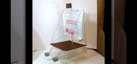 How To Make A Boat From A Bottle by How To Make A Bottle Boat With An Optional Radio