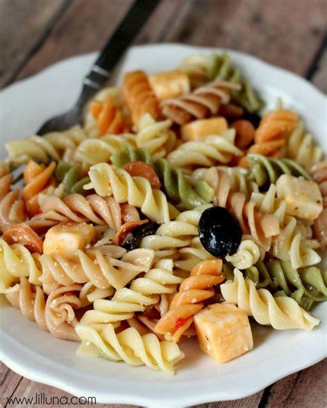 easy noodle salad easy pasta salad recipe