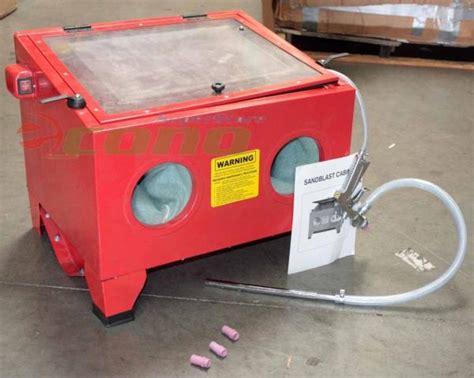 Benchtop Abrasive Sand Blaster Blast Cabinet Glass Bead