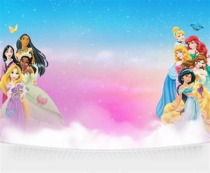 Disney Background Princess Birthday Tarpaulin Backgrounds Wallpapers