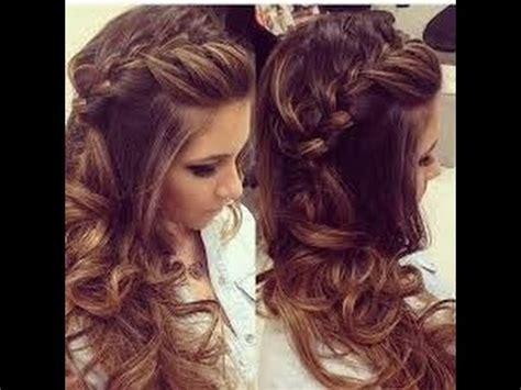 peinados de fiesta cabello largo  youtube