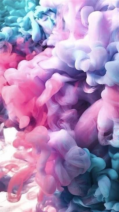 Smoke Iphone Girly Backgrounds Wallpapers Purple Pink