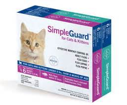 vethical simpleguard 174 flea medication for your cat from vca