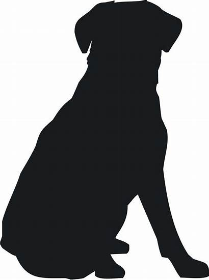 Silhouette Clipart Pitbull Dog Puppy Dark Clipground