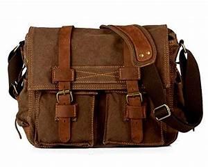 Laptoptasche 17 Zoll Leder : laptoptasche 17 zoll mens vintage casual leinwand ~ Kayakingforconservation.com Haus und Dekorationen