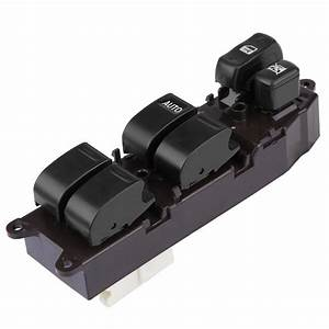 Left Driver Side Electric Power Master Window Switch For Toyota Land Cruiser 1997 2008 84820