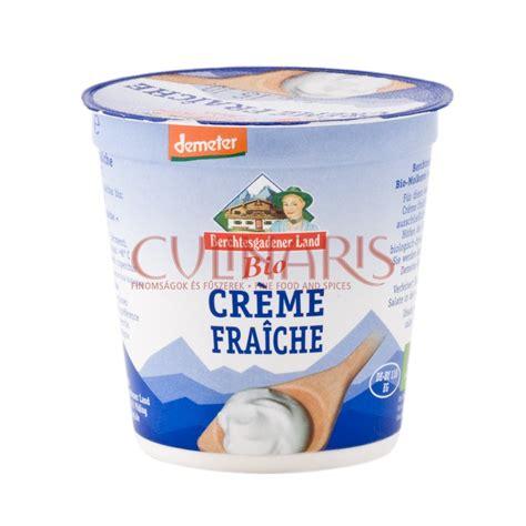 creme fraiche cuisine bercht demeter organic creme fraiche 150g culinaris hu