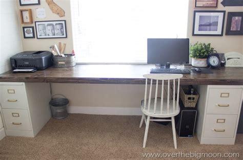 desk with file cabinet diy file cabinet desk