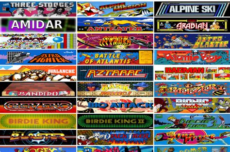 Internet Archive Offers 900 Classic Arcade Games For