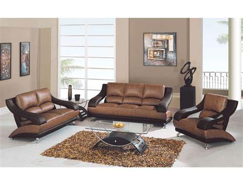 Versatile Shaped Leather Upholstered Living Room Set San Francisco California Gf982