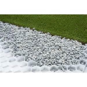 Dalle Plastique Jardin Leroy Merlin by Dalle Stabilisatrice Pour Gravier Easy Gravel 80x120 Cm