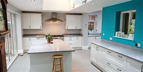 kitchen island worktop tristone concord solid surface worktop installation 2049