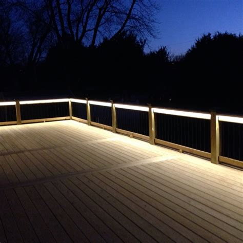 deck lighting image gallery deck lighting