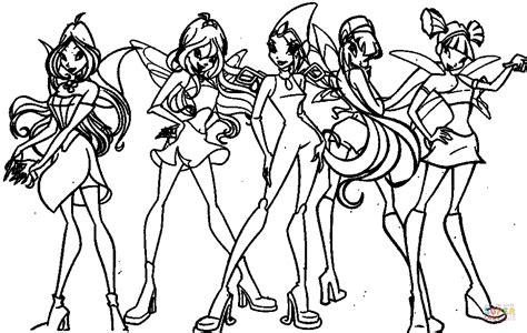 Les Filles Du Winx Club