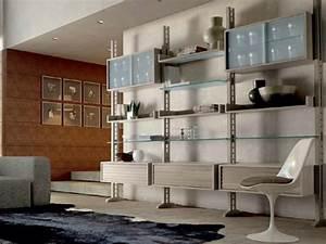 Meuble De Rangement Salon : meubles de rangement modernes qui vous facilitent la vie ~ Teatrodelosmanantiales.com Idées de Décoration