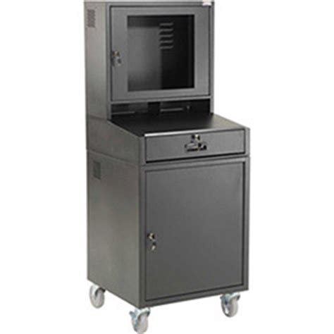 Mobile Security Lcd Computer Cabinet by Workshop Computer Workstations Mobile Computer