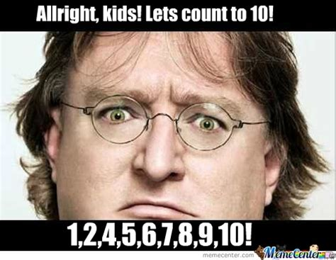 Gabe Newell Memes - habe newell hates 3 so true pinterest