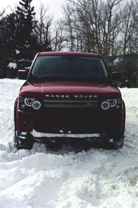 Range Rover Maroon Color Cars Pinterest Colors