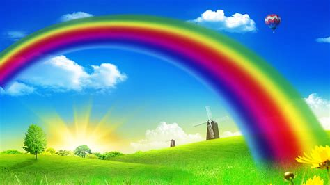 Cute Rainbow Desktop Backgrounds Hd