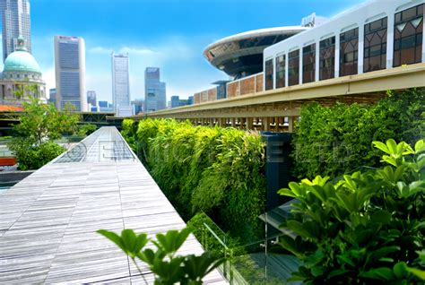 Singapore Vertical Garden by Vertical Garden Brings To At National Gallery