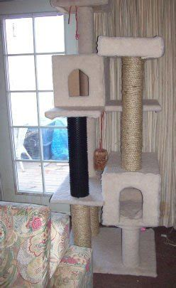 making   cat tree thriftyfun