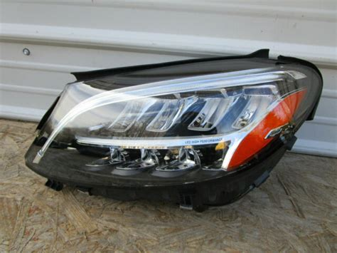 Find deals on mercedes c300 accessories in car accessories on amazon. 19 20 2019 2020 MERCEDES C CLASS C300 C350 C400 LEFT LED Headlight Head Lamp OEM | eBay