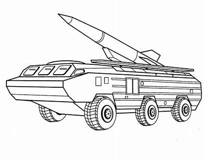 Army Coloring Pages Vehicles Boys